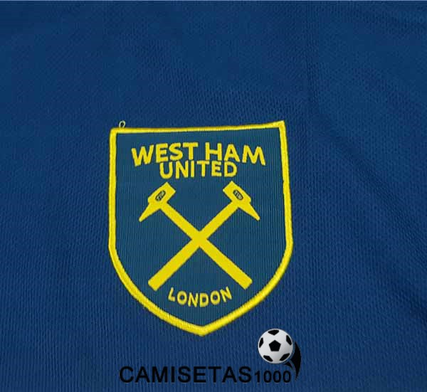 camiseta west ham united segunda 2018 2019