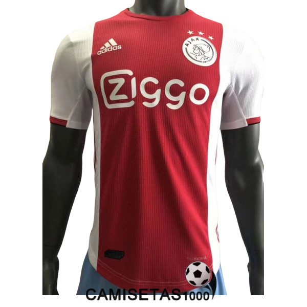 camiseta ajax primera version player 2019-2020