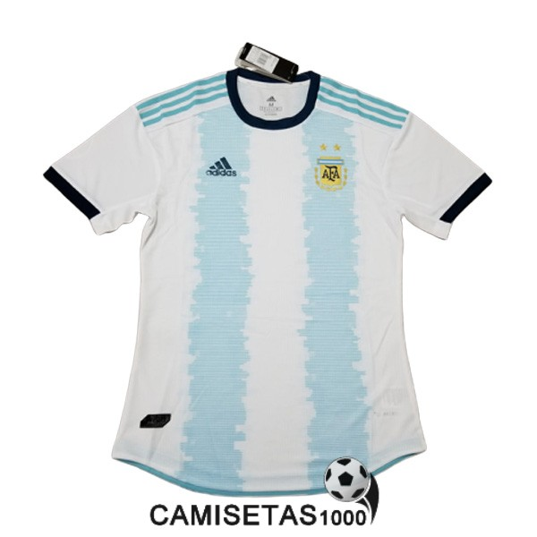 camiseta argentina primera version player 2019-2020