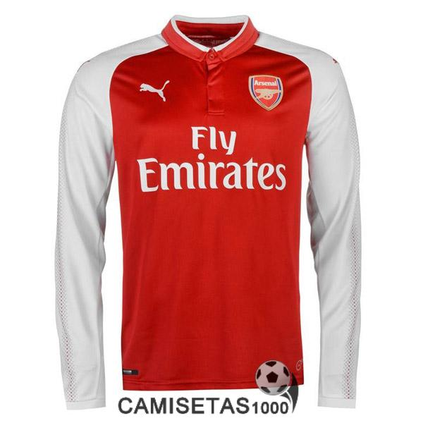 camiseta arsenal manga larga primera 2017 2018