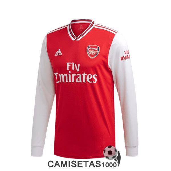 camiseta arsenal manga larga primera 2019-2020
