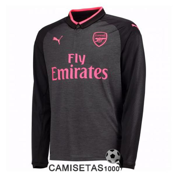 camiseta arsenal manga larga tercera 2017 2018