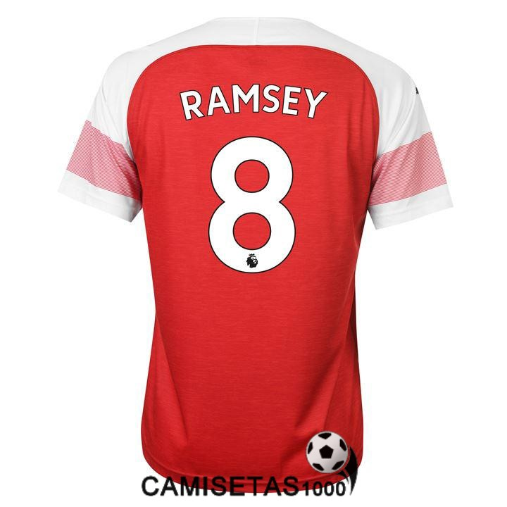 camiseta arsenal ramsey primera 2018 2019