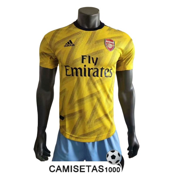 camiseta arsenal segunda version player 2019-2020