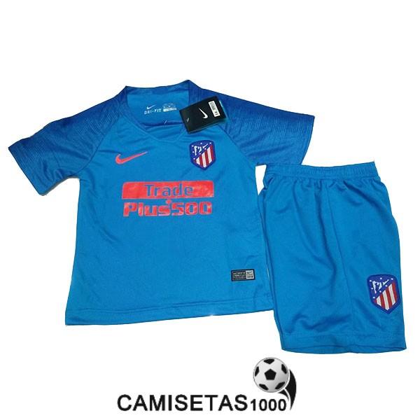 camiseta atletico de madrid segunda nino equipacion 2018 2019 69a5bf349f6fd