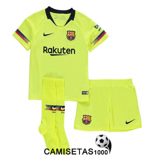 camiseta barcelona segunda nino equipacion 2018 2019 barata ... 20762f38f0b