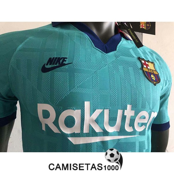 camiseta barcelona tercera version player 2019-2020