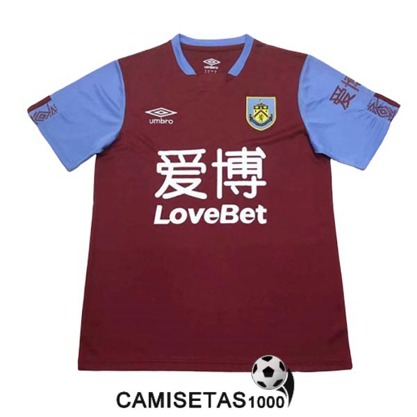 camiseta burnley primera 2019-2020
