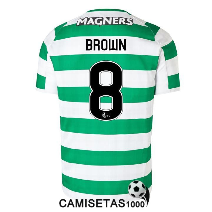 camiseta celtic glasgow brown primera 2018 2019