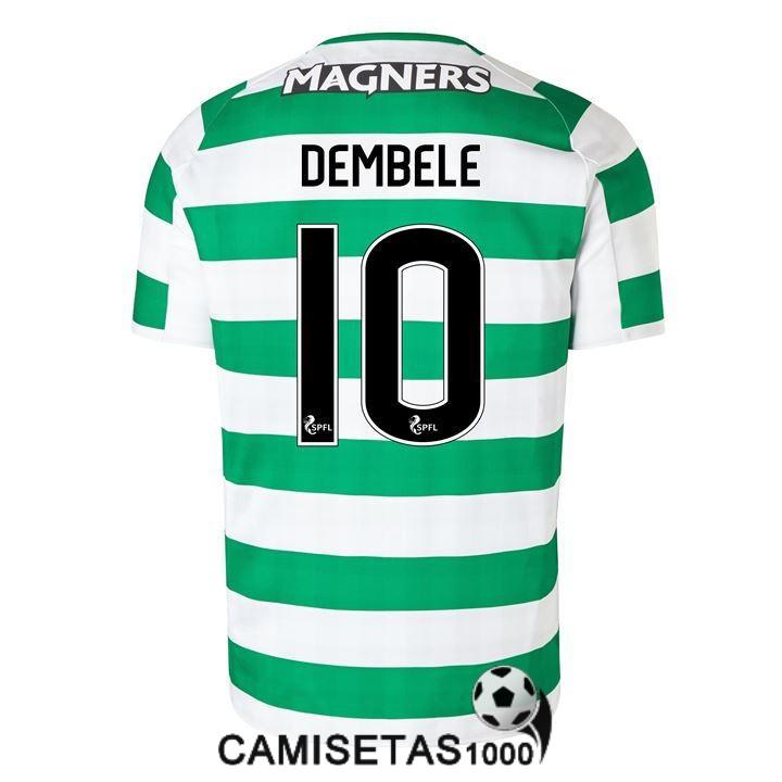 camiseta celtic glasgow dembele primera 2018 2019 f7e7e4a32523d