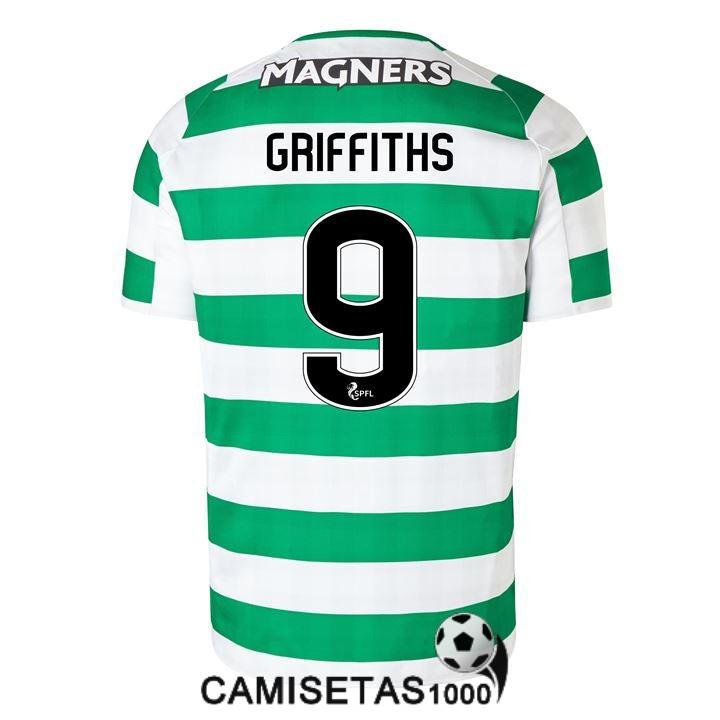 camiseta celtic glasgow griffiths primera 2018 2019