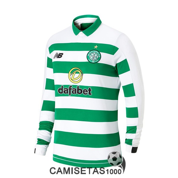 camiseta celtic glasgow manga larga primera 2019-2020