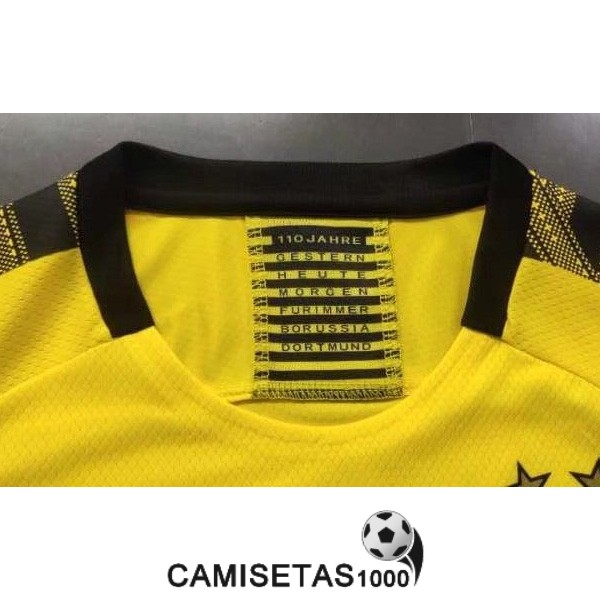 camiseta dortmund primera version player 2019-2020