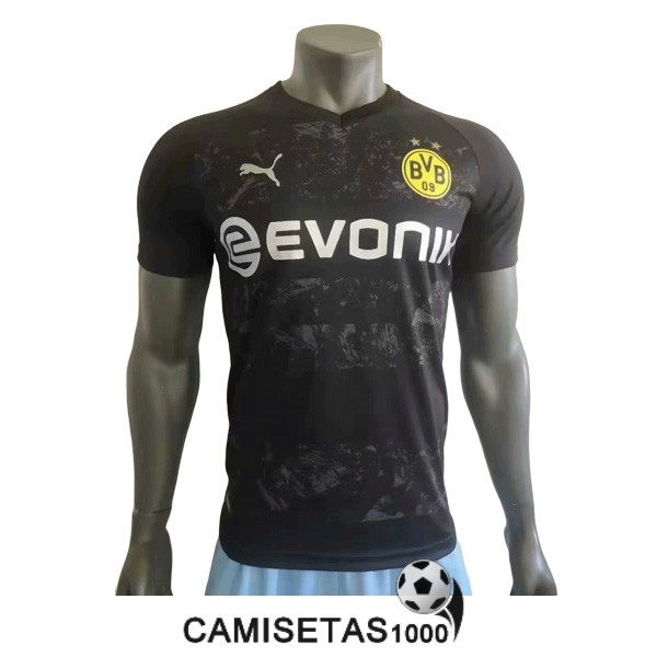 camiseta dortmund segunda version player 2019-2020