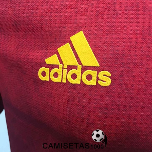 camiseta espanola primera version player 2020