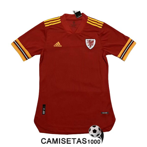camiseta gales primera version player 2020