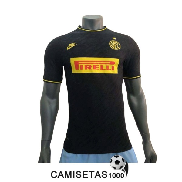 camiseta inter milan tercera version player 2019-2020