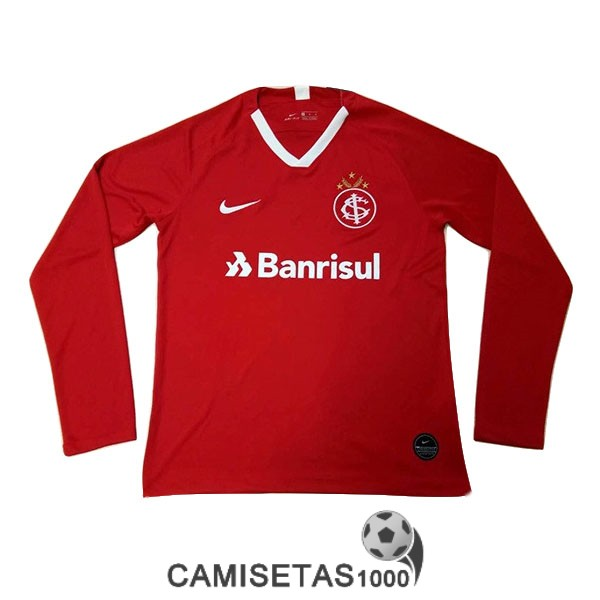 camiseta internacional rs manga larga primera 2019-2020