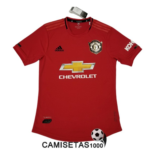 camiseta manchester united primera version player 2019-2020