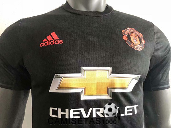 camiseta manchester united tercera version player 2019-2020