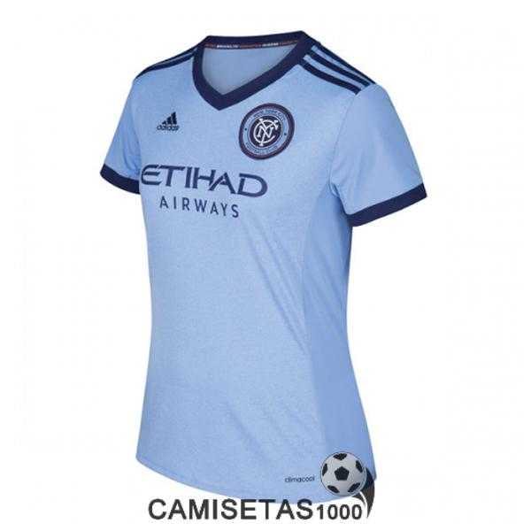 camiseta new york city primera mujer 2017 2018