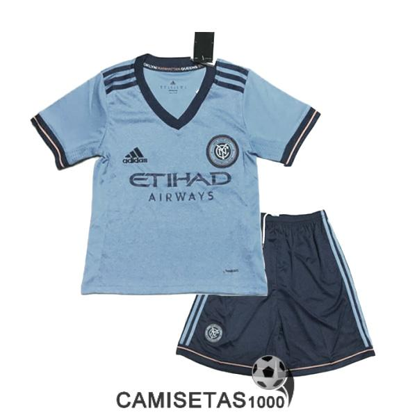 camiseta new york city primera nino equipacion 2017 2018