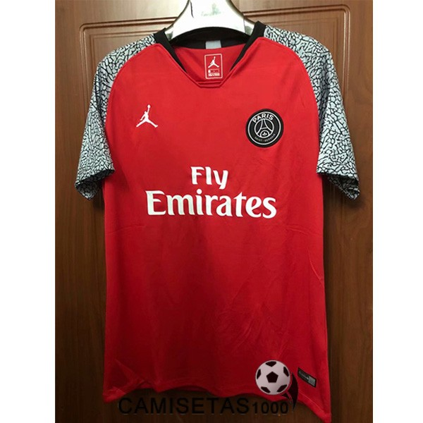 camiseta paris saint germain rojo edicion especial 2018-2019