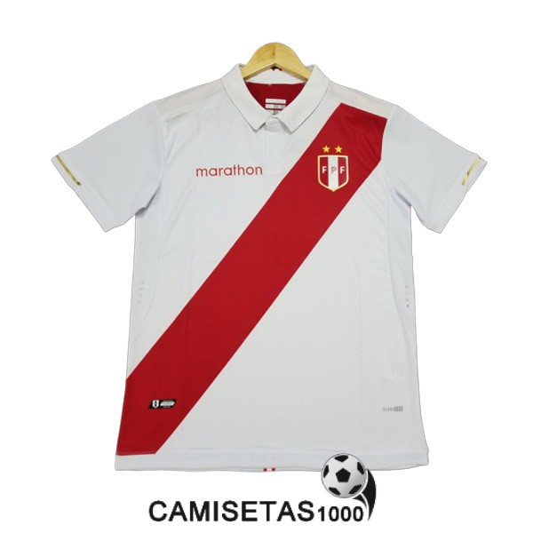 camiseta peru primera version player 2019-2020