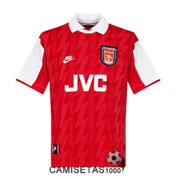 camiseta primera arsenal retro 1994
