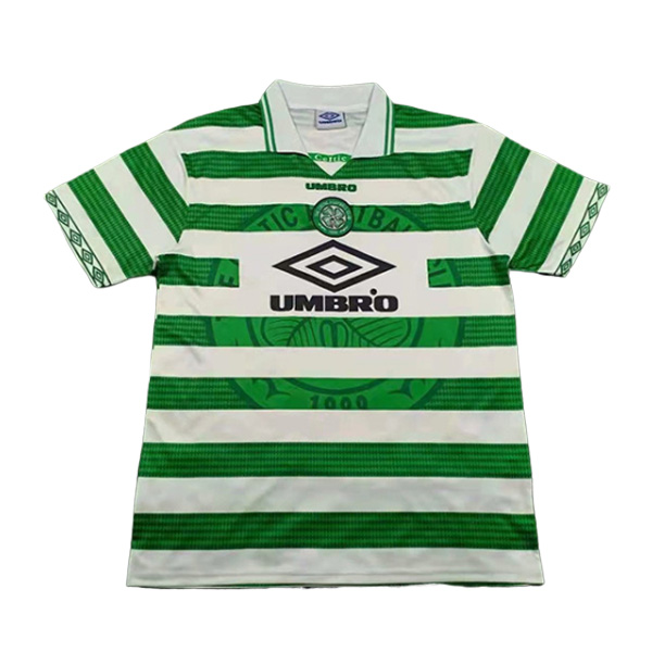 camiseta primera celtic glasgow retro 1997-1999