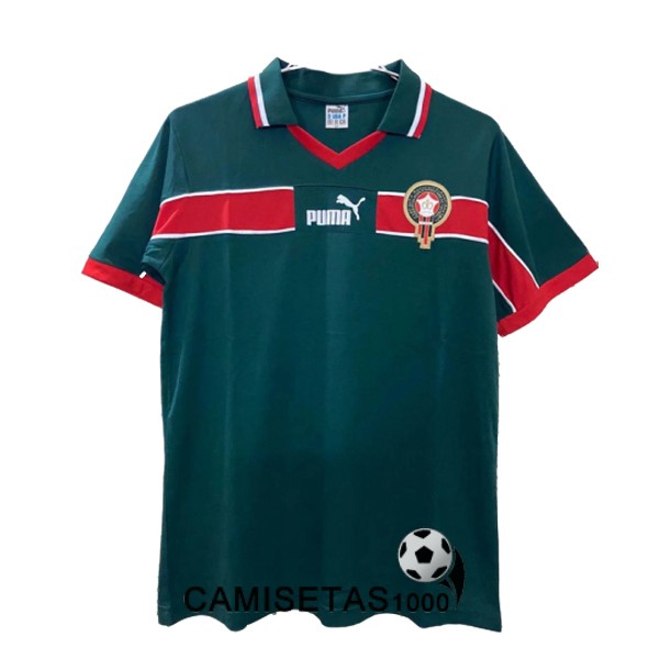 camiseta primera marruecos retro 1998-2000 [camisetas1000-20070679]
