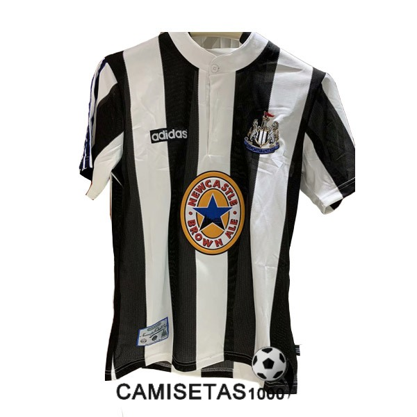 camiseta primera newcastle united retro 1995-1997