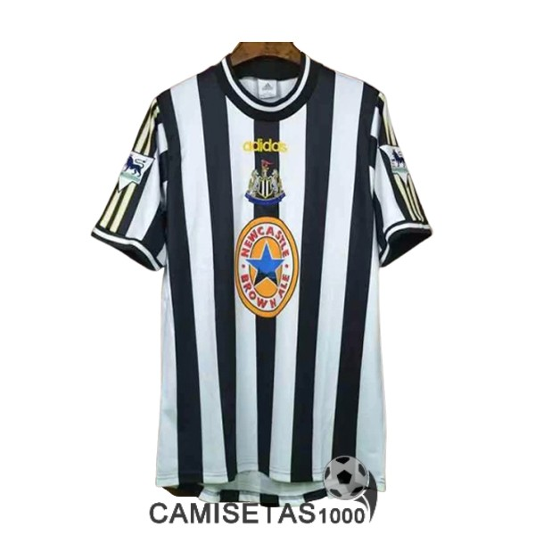 camiseta primera newcastle united retro 1997-1999