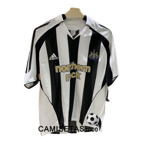 camiseta primera newcastle united retro 2005-2007