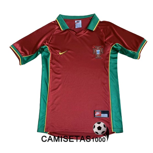 camiseta primera portugal retro 1997-1998