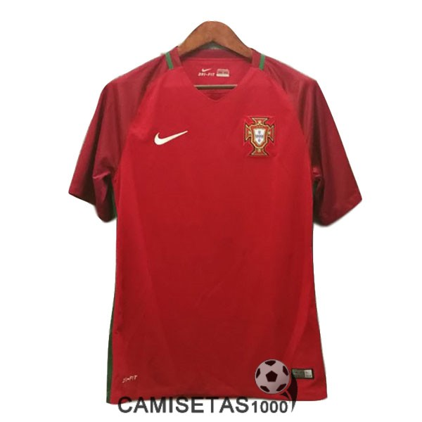 camiseta primera portugal retro 2016