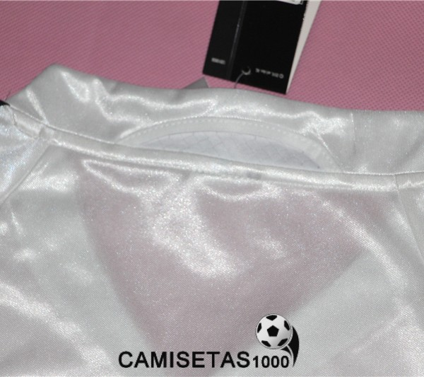 camiseta primera real madrid retro 2004