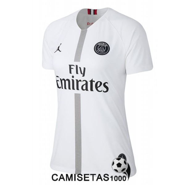 camiseta psg blanco mujer 2018 2019 champions league [camiseta18-10-17-124]