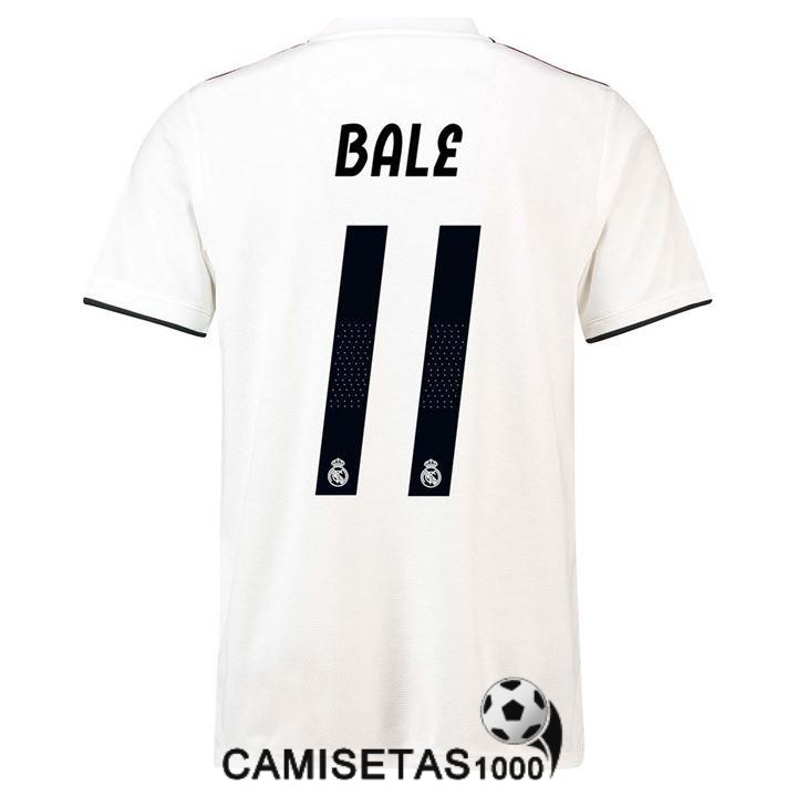 camiseta real madrid bale primera 2018 2019