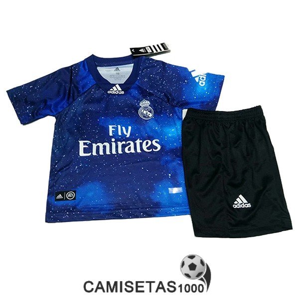 camiseta real madrid ea sports nino equipacion 2018-2019