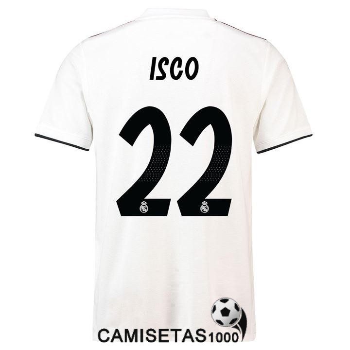 camiseta real madrid isco primera 2018 2019