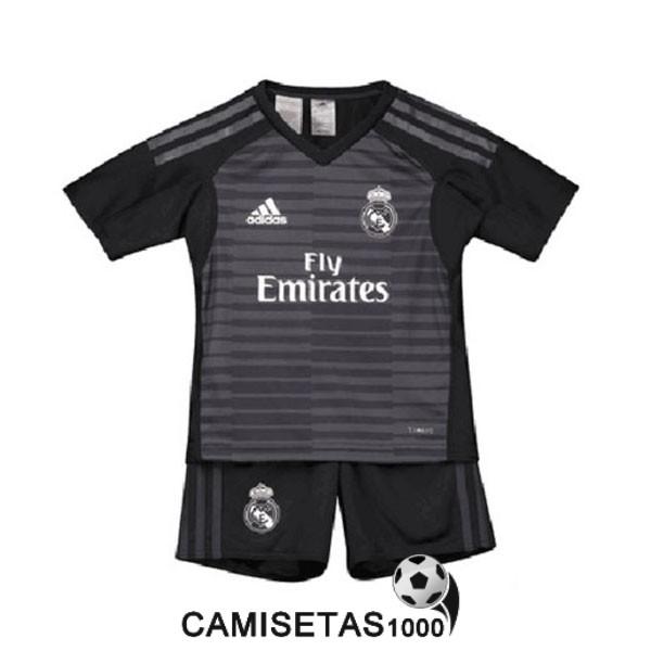 camiseta real madrid negro portero nino equipacion 2018 2019 9c52a40321df5