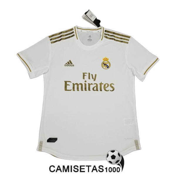 camiseta real madrid primera version player 2019-2020
