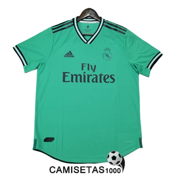 camiseta real madrid tercera version player 2019-2020