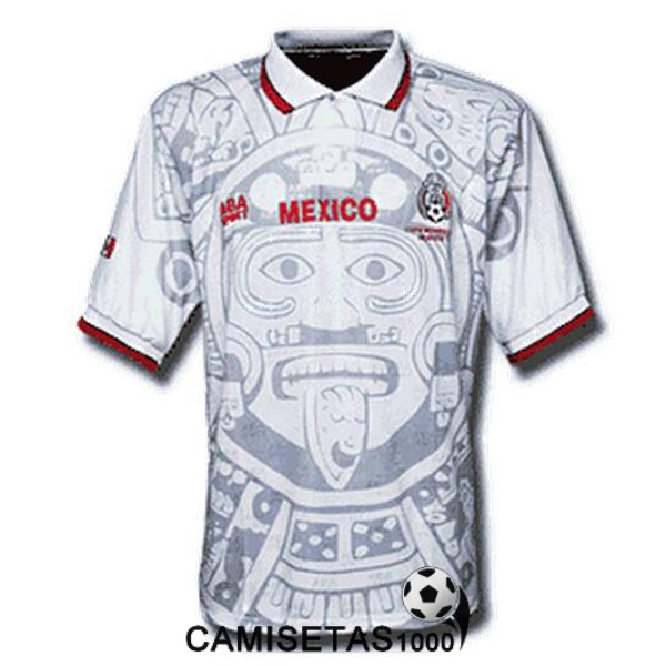 camiseta segunda mexico retro 1998