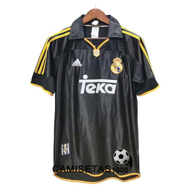 camiseta segunda real madrid retro 1999-2001
