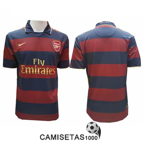 camiseta tercera arsenal retro 2007-2008