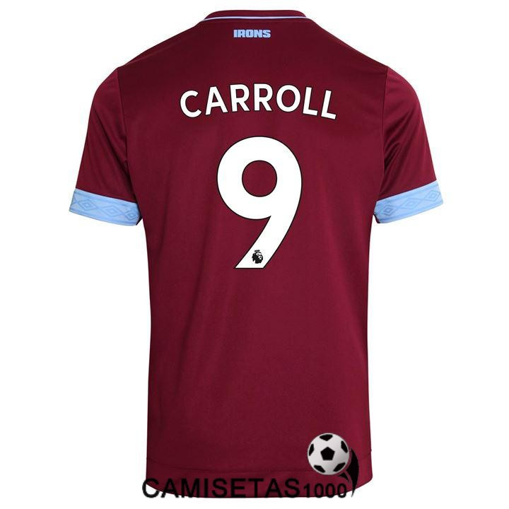 camiseta west ham united carroll primera 2018 2019