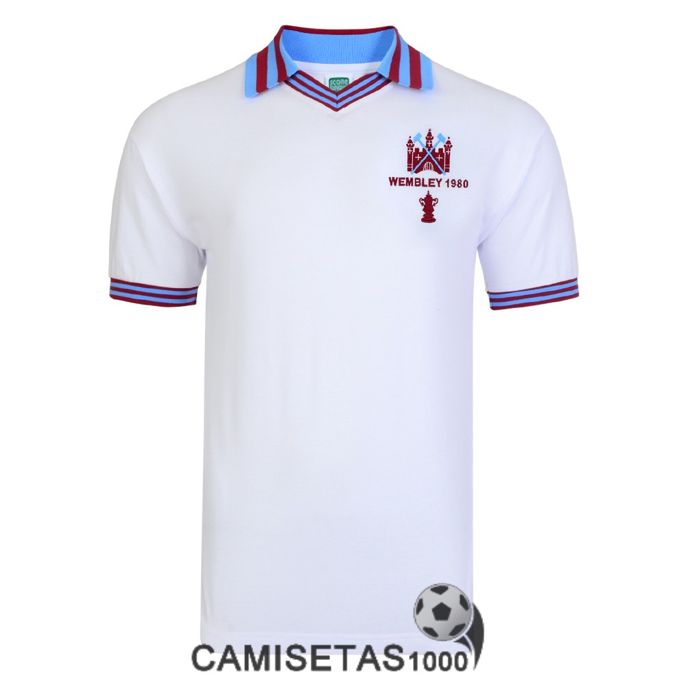 camiseta west ham united retro champions league