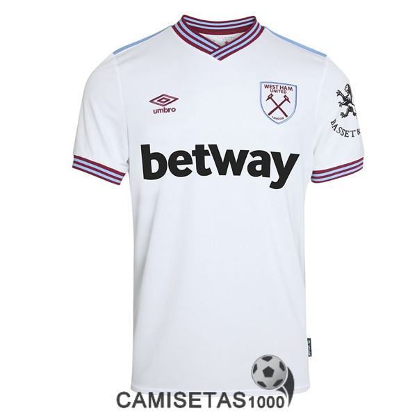 camiseta west ham united segunda 2019-2020